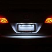 Pack LED Plaque pour Nissan Pulsar 2014
