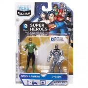 Jakks Pacific, Hero Portal, DC Comics Booster Pack, Green Lantern and Cyborg