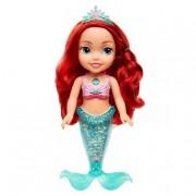Glop Games Princesas Disney - Ariel - Muñeca Luces y Purpurina