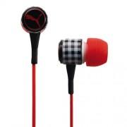 Puma Roadies - слушалки с микрофон за iPhone, iPod и устройства с 3.5 мм изход (червен)