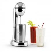 Klarstein Van Damme, сребърен, 100W, смесител / миксер за смесване на напитки, 450ml чаша неръждаема стомана (MSK1-van-Damme-S)