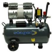 Compresor de aer Stager HM24JW-0.55, 0.75 CP, 24 L, 8 BAR