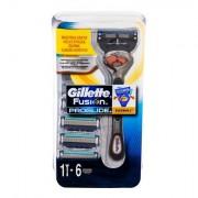 Gillette Fusion Proglide sada holicí strojek s jednou hlavicí 1 ks + náhradní hlavice 6 ks pro muže