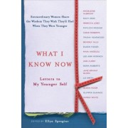What I Know Now: Letters to My Younger Self, Paperback