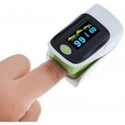 Oxímetro De Pulso Pulse Oximeter-Verde