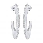 Swarovski Gelane Hoop boucles d'oreilles - blanc - 5279779