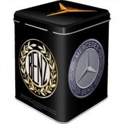 Cutie metal ceai Mercedes Benz - Logo Evolution