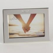 Rama foto argintata Love