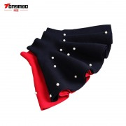 2017 New Fall and Winter Children's Clothing Girls Fashion Casual Knit Skirt Bottoming Pearl Princess Tutu Skirts Wild Child