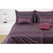 1 Glamonde Jemná elegance Martino fialová 2×70x90 cm 200x220 cm zipové