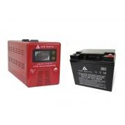 Zestaw zasilania awaryjnego Sinus-500PRO 500W + AKU 40Ah 12V VRLA AGM