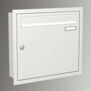 Express Box Up 110 - flush-mounted letterbox white
