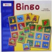 Joc educativ din lemn Bingo