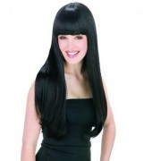 Sellers Destination synthetic New Style Black Fashion Long Straight Womens Girl Full Hair Wig