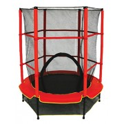 oy Park 55 INCH Jumping Trampoline with Metal Springs , for Kids Indoor / Outdoor