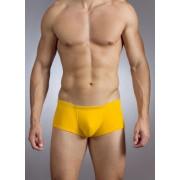 Baskit Action Cool All Mesh Sawed Off Brief Uber Yellow Underwear M3300