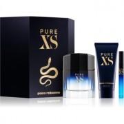 Paco Rabanne Pure XS lote de regalo II. eau de toilette 100 ml + gel de ducha 100 ml + eau de toilette 10 ml