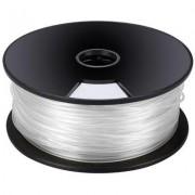 Műanyag szál 3D nyomtatóhoz fehér 3mm 1 kg Velleman ABS3W1 (555894)
