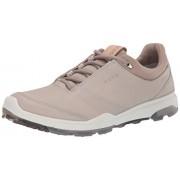 ECCO Biom Hybrid 3 Gore-Tex Zapatillas de Golf para Mujer, Gravel Yak Leather, 6-6.5 M US