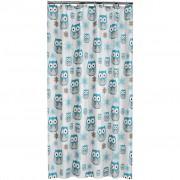 Sealskin Shower Curtain Owl 180 cm Blue 210871324