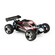 FunTech 1:18 Scale RC Trucks Electric Cars Fast 30MPH 4X4 Off-Road 2.4-GHz All Terrain Racing Bumper w/ Remote (Red)