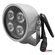 JCHENG SECURITY JC 4pcs LED de Alta Potencia IR Array Illuminator lámpara gran angular para visión nocturna CCTV IR Y Cámara IP