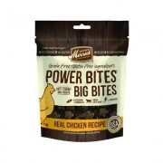 Merrick Power Bites Big Bites Real Chicken Recipe Grain-Free Soft & Chewy Dog Treats, 14-oz bag