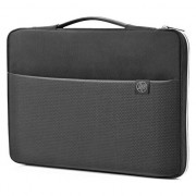 "Husa laptop HP Carry Sleeve 14"", Negru/Argintiu"