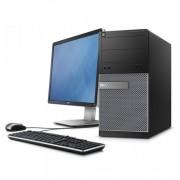 "Sistem DELL OPTIPLEX 3020 Intel G3220 3.0 Ghz (Gen a 4-a) ,4 GB DDR3, 250 GB HDD + Monitor 19"" DELL Tastatura"