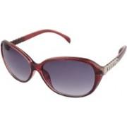 VASIDUDA Oval Sunglasses(For Girls)