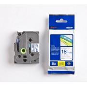 Brother TZE243 - Brother P-Touch Tape blå på vit 18mm