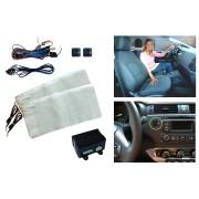 SH-4190 Obbomed Carbon Fiber Retrofit Seat Heater For Front Seats – Driver & Passenger Complete Set