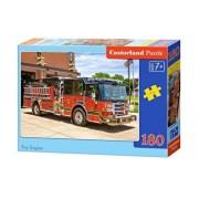 Puzzle Masina de pompieri, 180 piese