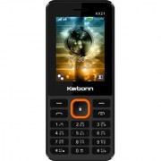 Karbonn KX21 Dual Sim Mobile With 1000 mAh Battery/Digital Camera/Wireless FM/Torch/Auto Call Recording/Mobile Tracker