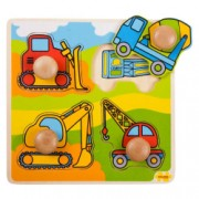 Primul meu puzzle - Santierul de constructii