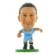 Figurina Soccerstarz Man City Martin Demichelis Home Kit
