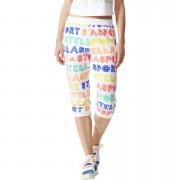 adidas Women's Stellasport 3/4 Track Pants - White - M/UK 12-14 - White