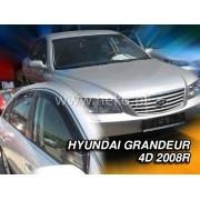 Deflektory komplet 4 ks pre HYUNDAI Grandeur , 2005-2011
