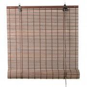 Xenos Rolgordijn bamboe - bruin/naturel - 120x180 cm