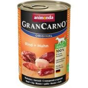 Animonda dog konzerva Gran Carno hovězí/kuře - 6x 800g
