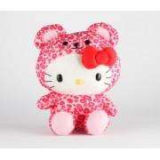 "Hello Kitty 8"" Safari Plush: Leopard"