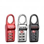 Tumi Travel Accessoires TSA Lock Box Set of 3 black / silver / red (TSA) kofferslot