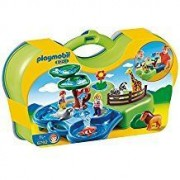 Playmobil Take Along Zoo & Aquarium Building Kit