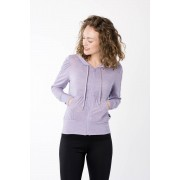 Super NATURAL Kapuzensweatjacke »W HOODED COVER UP«