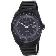 Citizen Eco-Drive Analog Black Dial Mens Watch - AW1015-53E