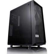 Carcasa Fractal Design Meshify C Dark Tempered Glass, neagra, fara sursa