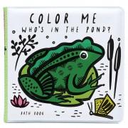 WEE GALLERY Livre de bain à colorier - Etang