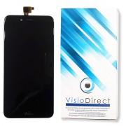 Visiodirect® Ecran Complet Pour Wiko Upulse Lite Noir 5.2 Téléphone Portable Vitre Tactile + Écran Lcd