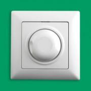 VISAGE Forgatógombos fényerőszabályzó IP20 Fehér - Gunsan