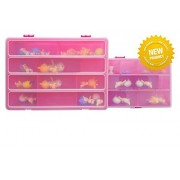 Life Made Better Toozy Box Mini Set Includes 2-Piece Storage Boxes Compatible with Twozies